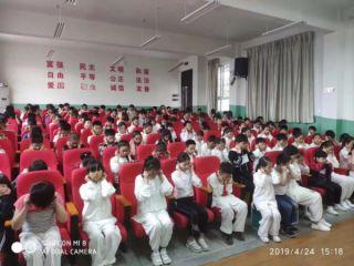 衢州爱尔眼科专家走进小学宣讲爱眼护眼知识