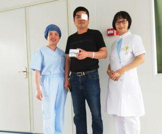 诸暨爱尔成功完成了首例三焦点人工晶体植入术!