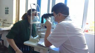 本院活动 | 义诊体检进行中——台州爱尔眼科守护您的眼健康